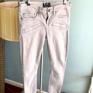 Vince gray grey skinny jeans size 27 fits like XS